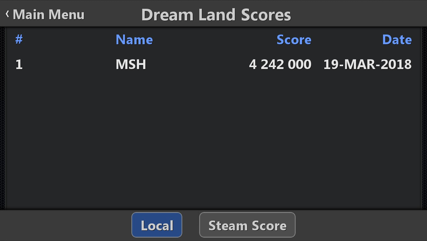 Mark: Pinball HD Collection: Dream Land (PC) 4,242,000 points on 2018-09-23 02:37:13