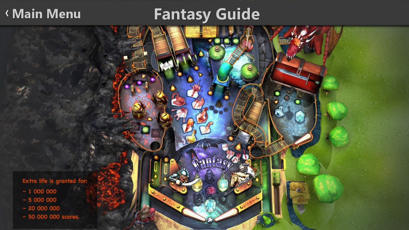 Mark: Pinball HD Collection: Fantasy (PC) 2,745,500 points on 2018-12-24 01:28:16