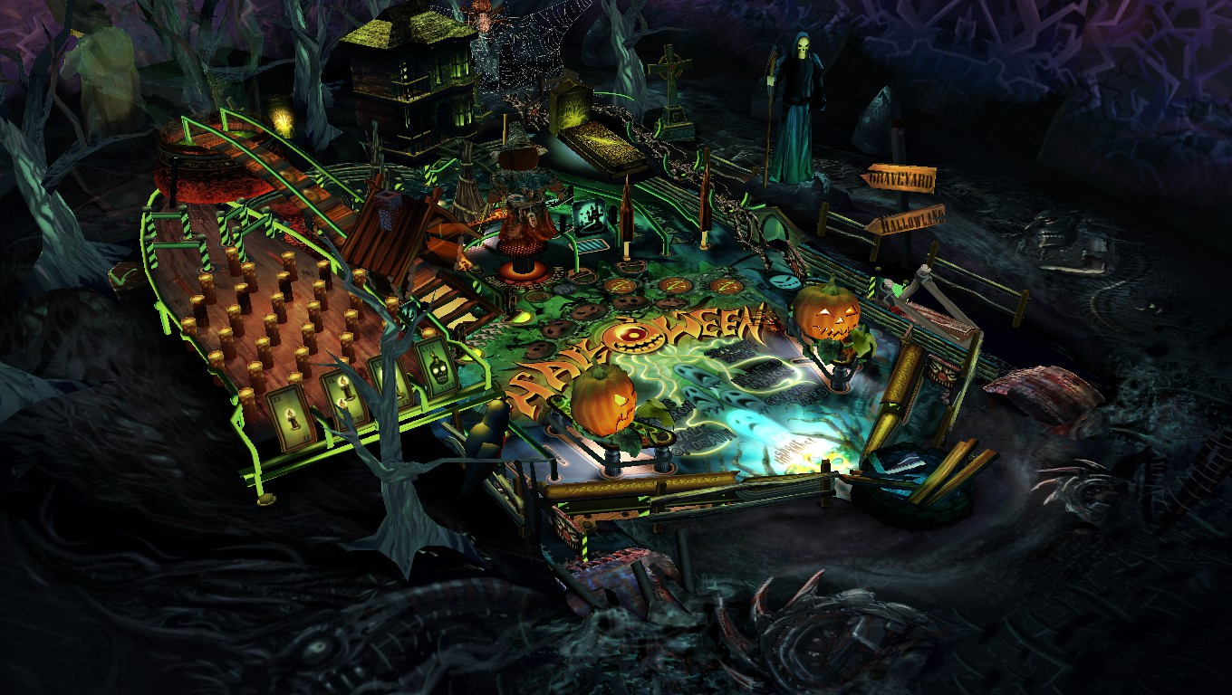 Mark: Pinball HD Collection: Halloween (PC) 3,835,585 points on 2018-09-24 14:02:07