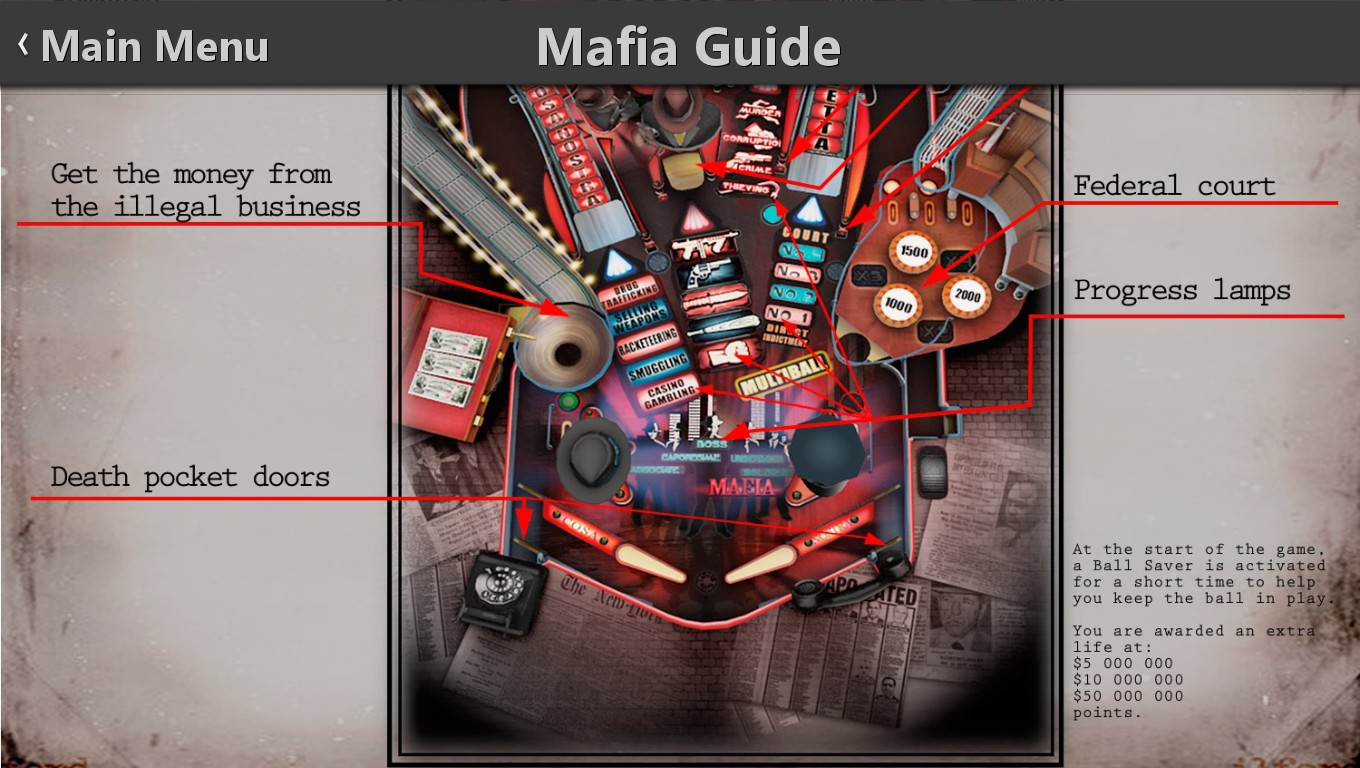 Mark: Pinball HD Collection: Mafia (PC) 1,128,327 points on 2018-09-26 02:07:36