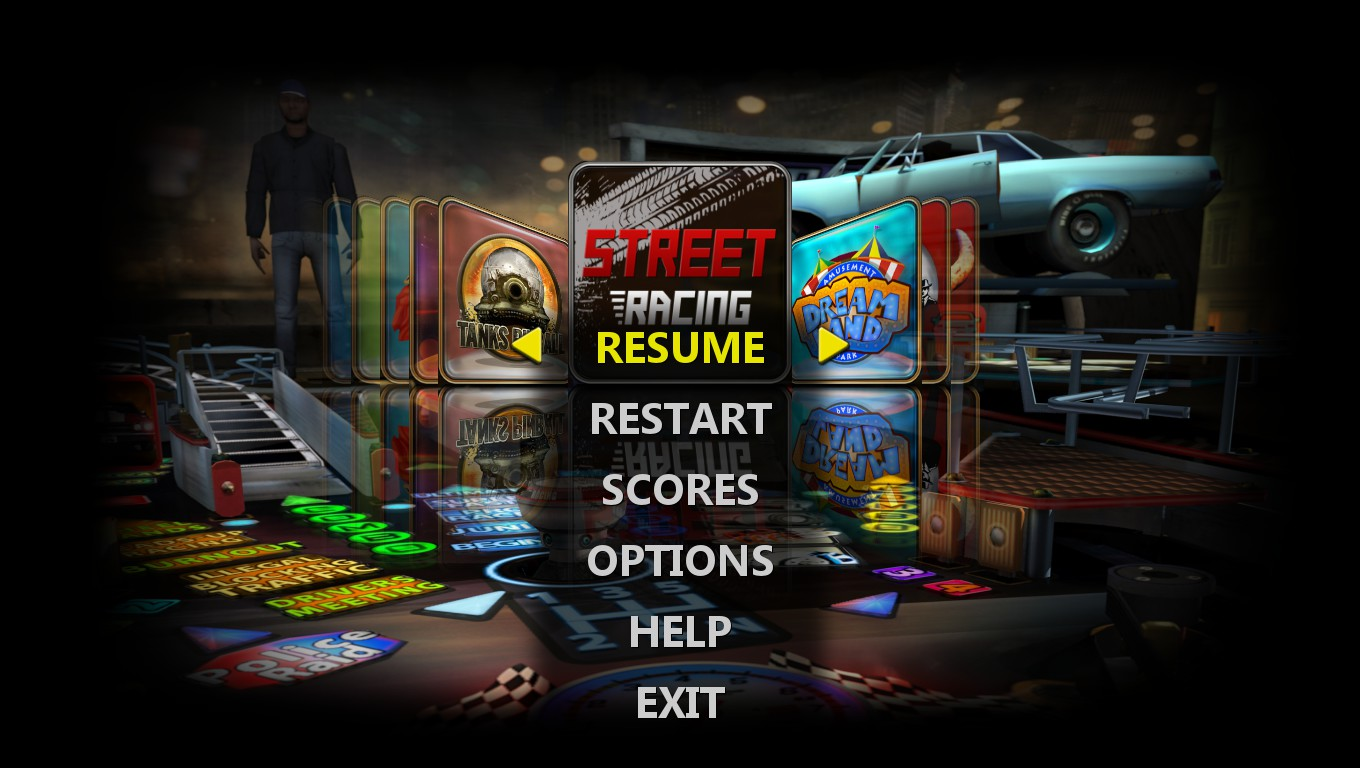 Mark: Pinball HD Collection: Street Racing (PC) 1,306,906 points on 2018-10-01 01:57:15