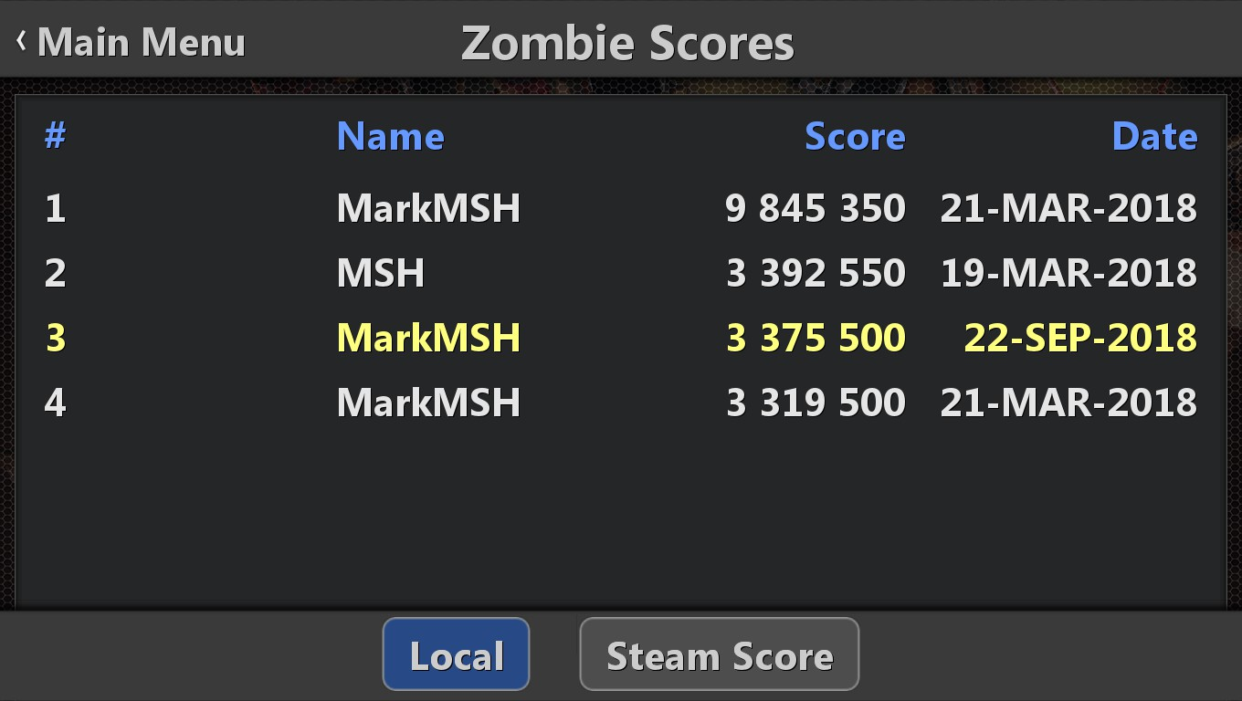 Mark: Pinball HD Collection: Zombie Attack (PC) 9,845,350 points on 2018-09-22 04:44:13