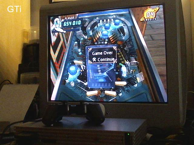 GTibel: Pinball Hall Of Fame: The Gottlieb Collection: Black Hole [5 Balls] (Playstation 2) 654,010 points on 2017-09-02 12:54:38