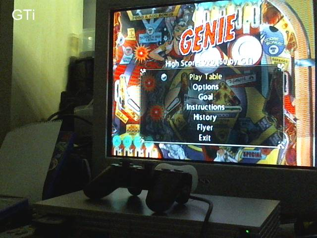 GTibel: Pinball Hall Of Fame: The Gottlieb Collection: Genie [5 Balls] (Playstation 2) 929,150 points on 2017-09-04 01:33:39