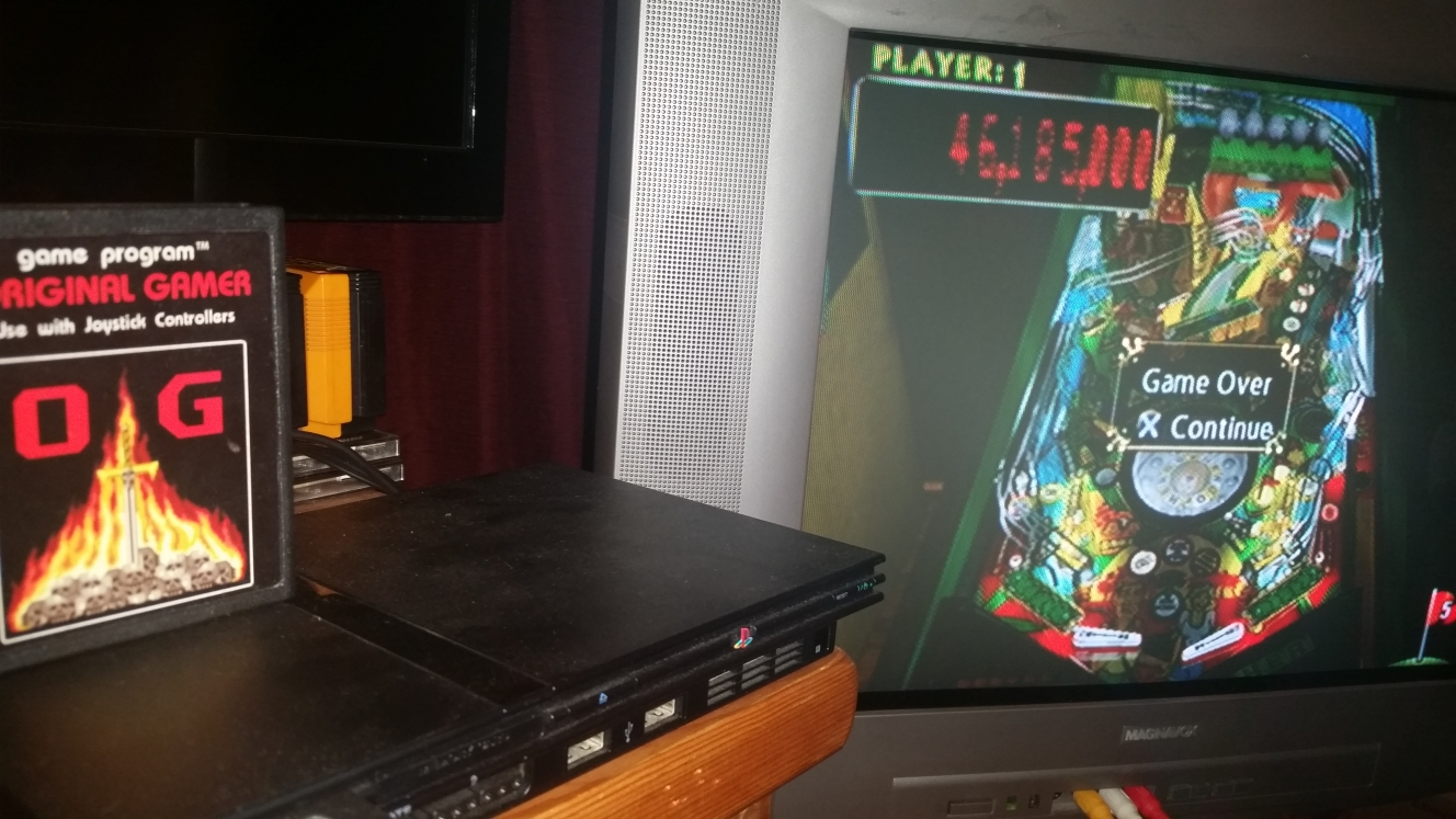 OriginalGamer: Pinball Hall Of Fame: The Gottlieb Collection: Tee