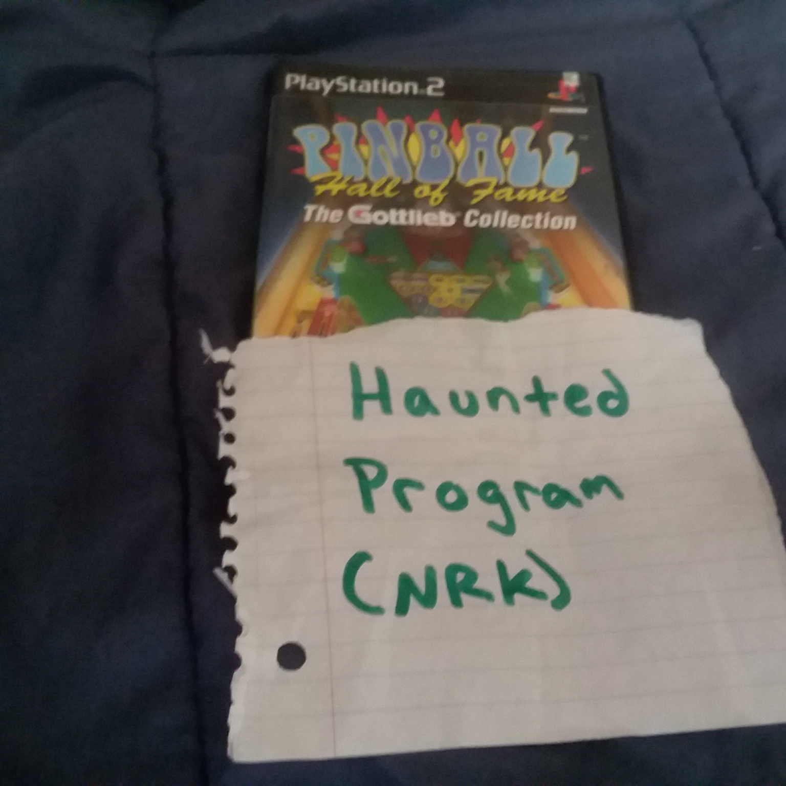 Hauntedprogram: Pinball Hall Of Fame: The Gottlieb Collection [Tournament Mode] (Playstation 2) 40 points on 2020-11-11 20:29:50