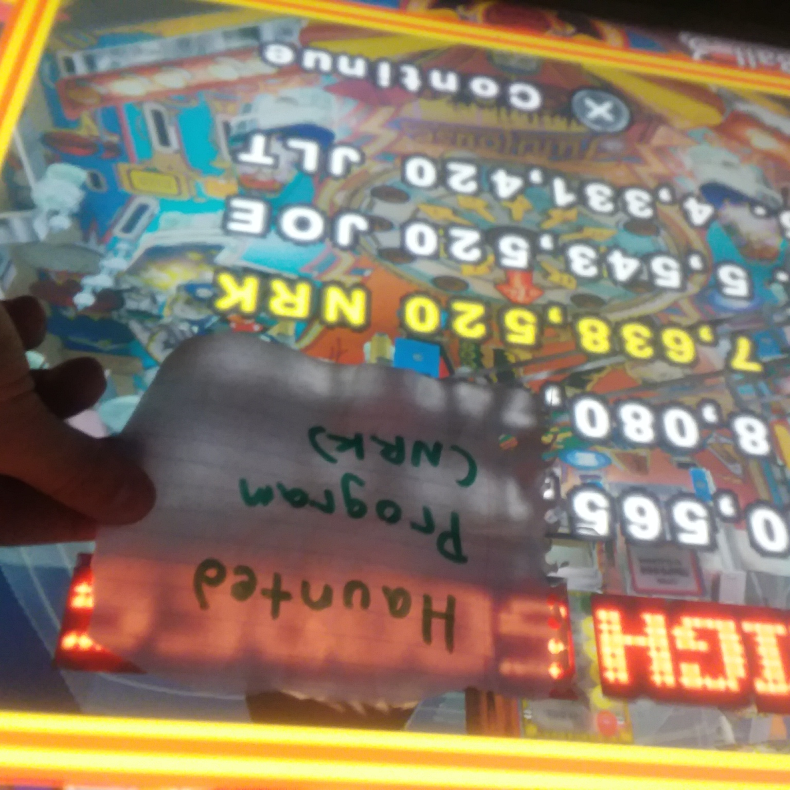 Pinball Hall Of Fame: The Williams Collection: Funhouse 7,638,520 points