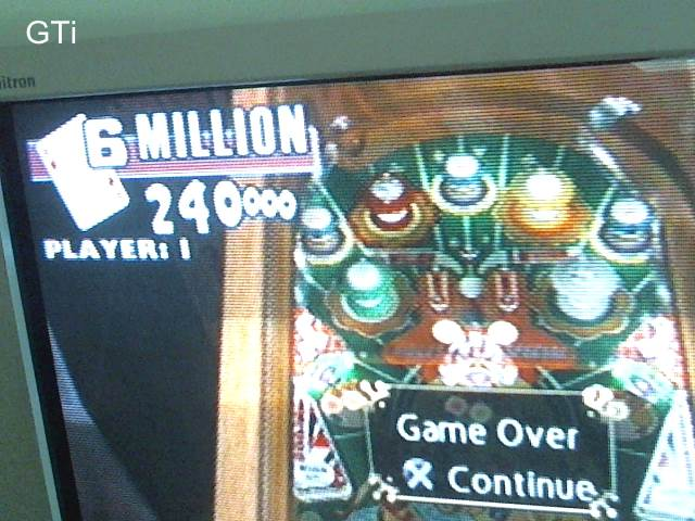 GTibel: Pinball Hall of Fame: The Gottlieb Collection: Ace High [5 Balls] (Playstation 2) 6,240,000 points on 2017-09-02 10:25:37
