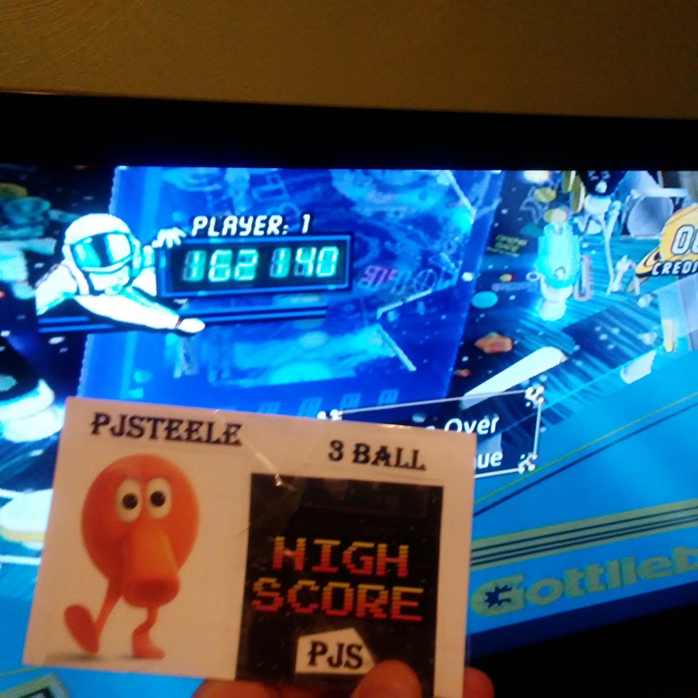 Pjsteele: Pinball Hall of Fame: The Gottlieb Collection: Black Hole [3 Balls] (GameCube) 162,140 points on 2018-01-28 15:02:05