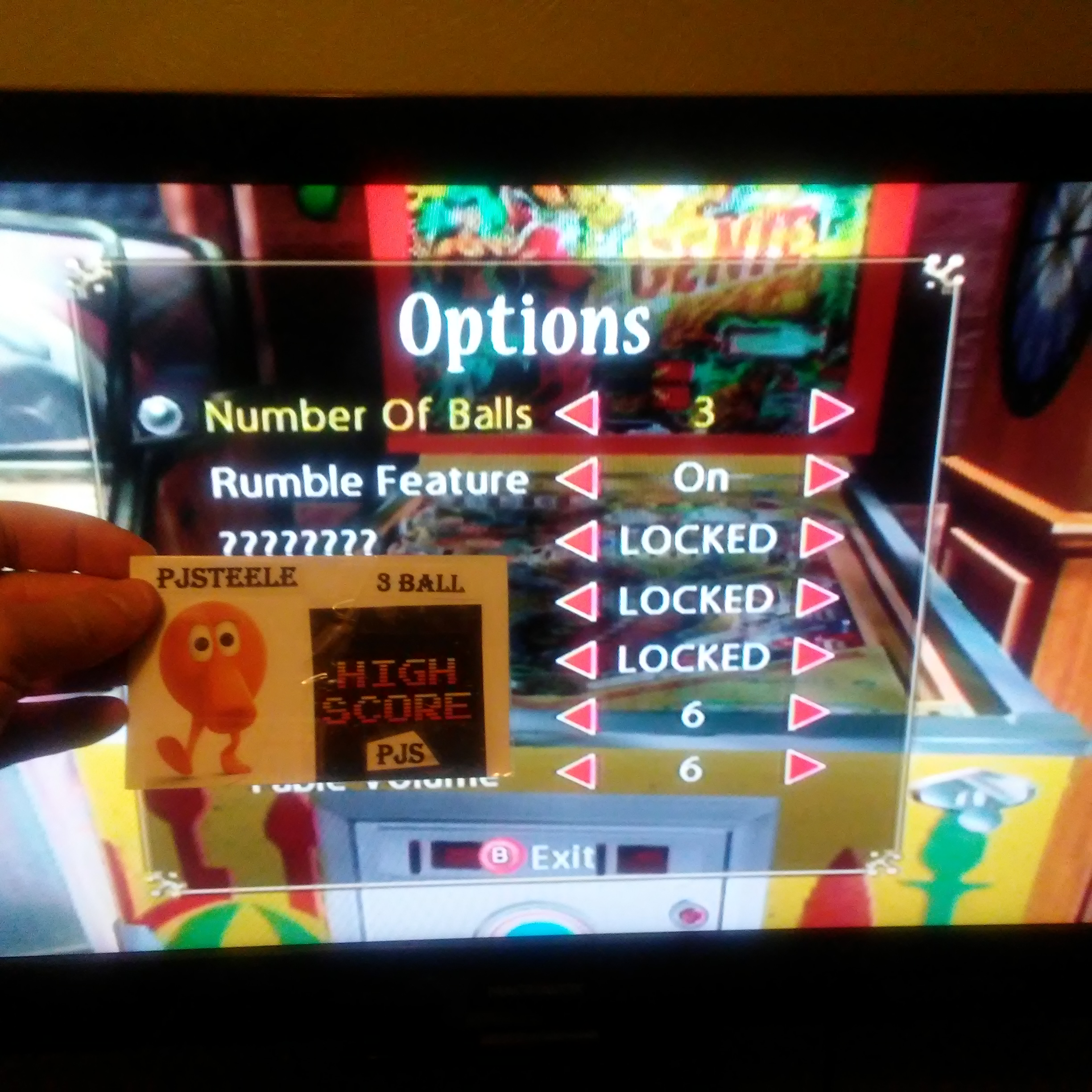 Pjsteele: Pinball Hall of Fame: The Gottlieb Collection: Genie [3 Balls] (GameCube) 165,680 points on 2018-01-28 13:46:11