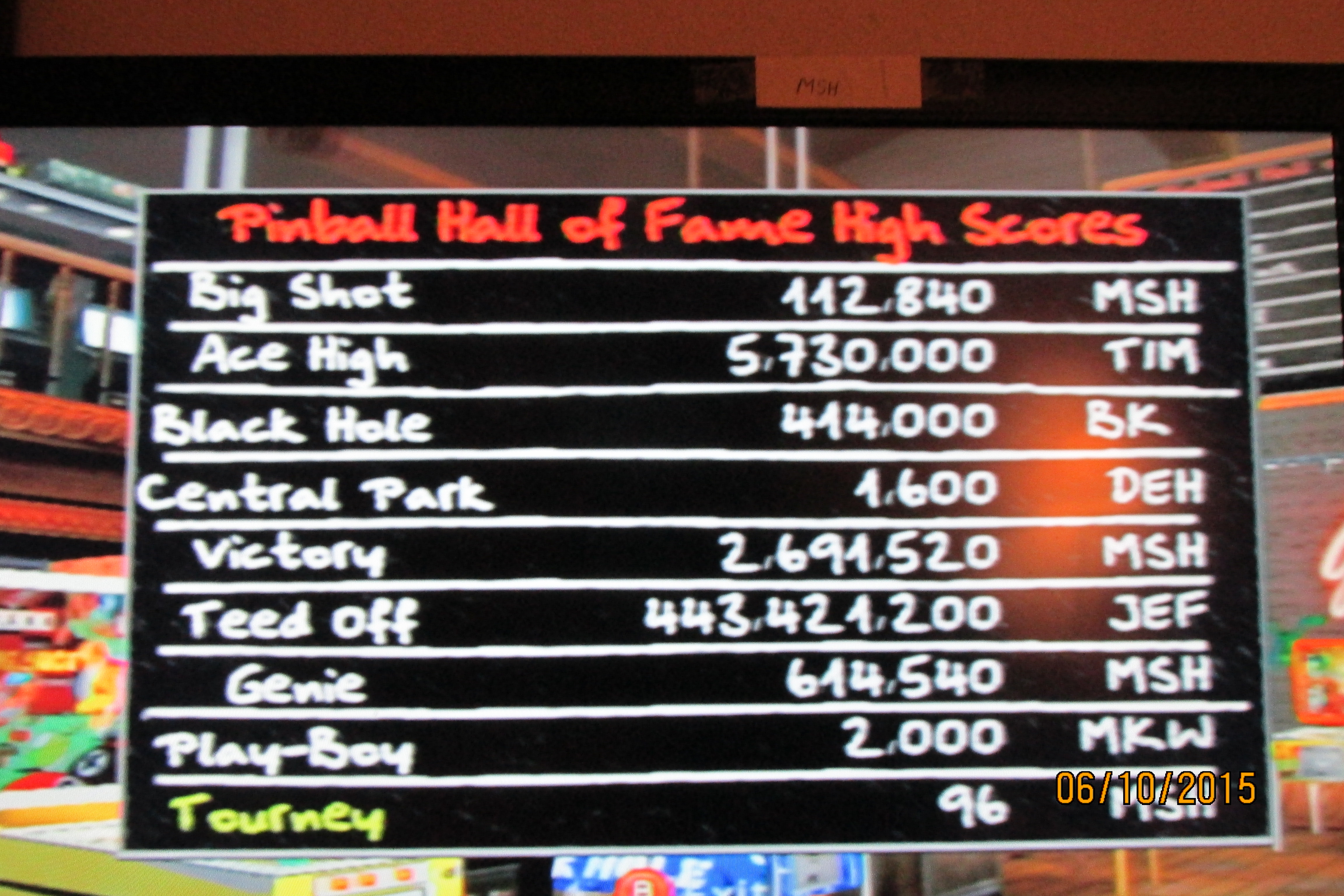 Mark: Pinball Hall of Fame: The Gottlieb Collection: Genie [5 Balls] (GameCube) 614,540 points on 2015-06-28 19:14:27
