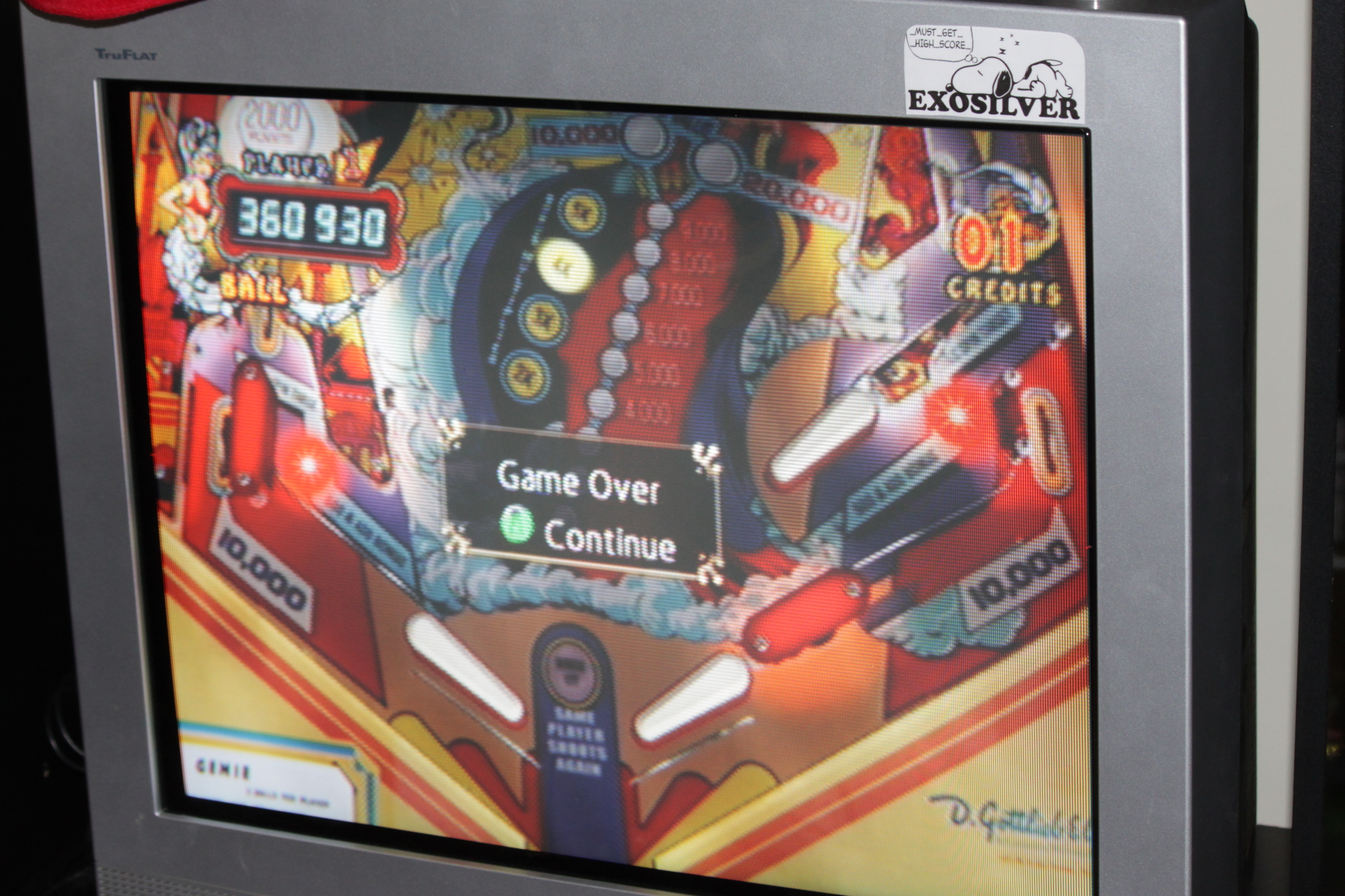 Pinball Hall of Fame: The Gottlieb Collection: Genie 360,930 points