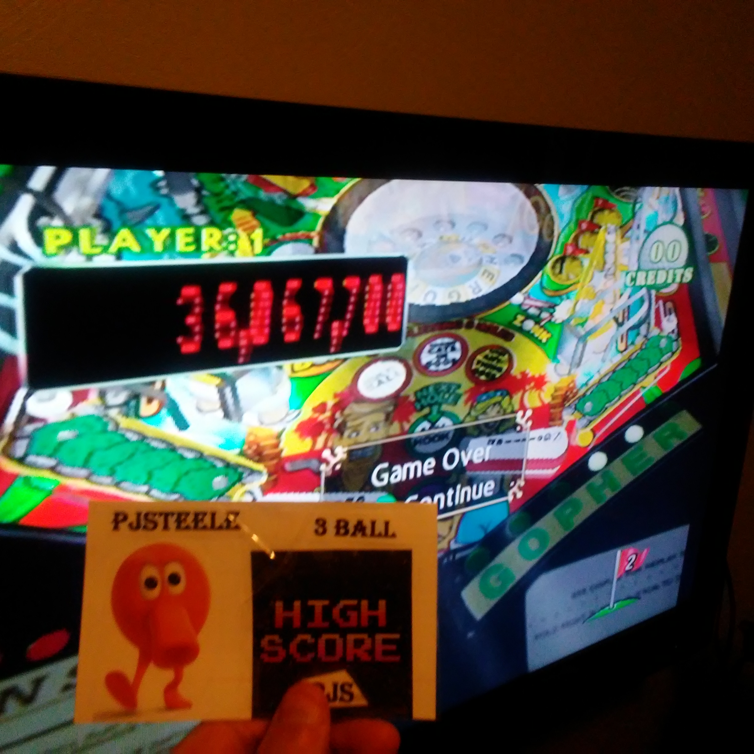Pjsteele: Pinball Hall of Fame: The Gottlieb Collection: Tee