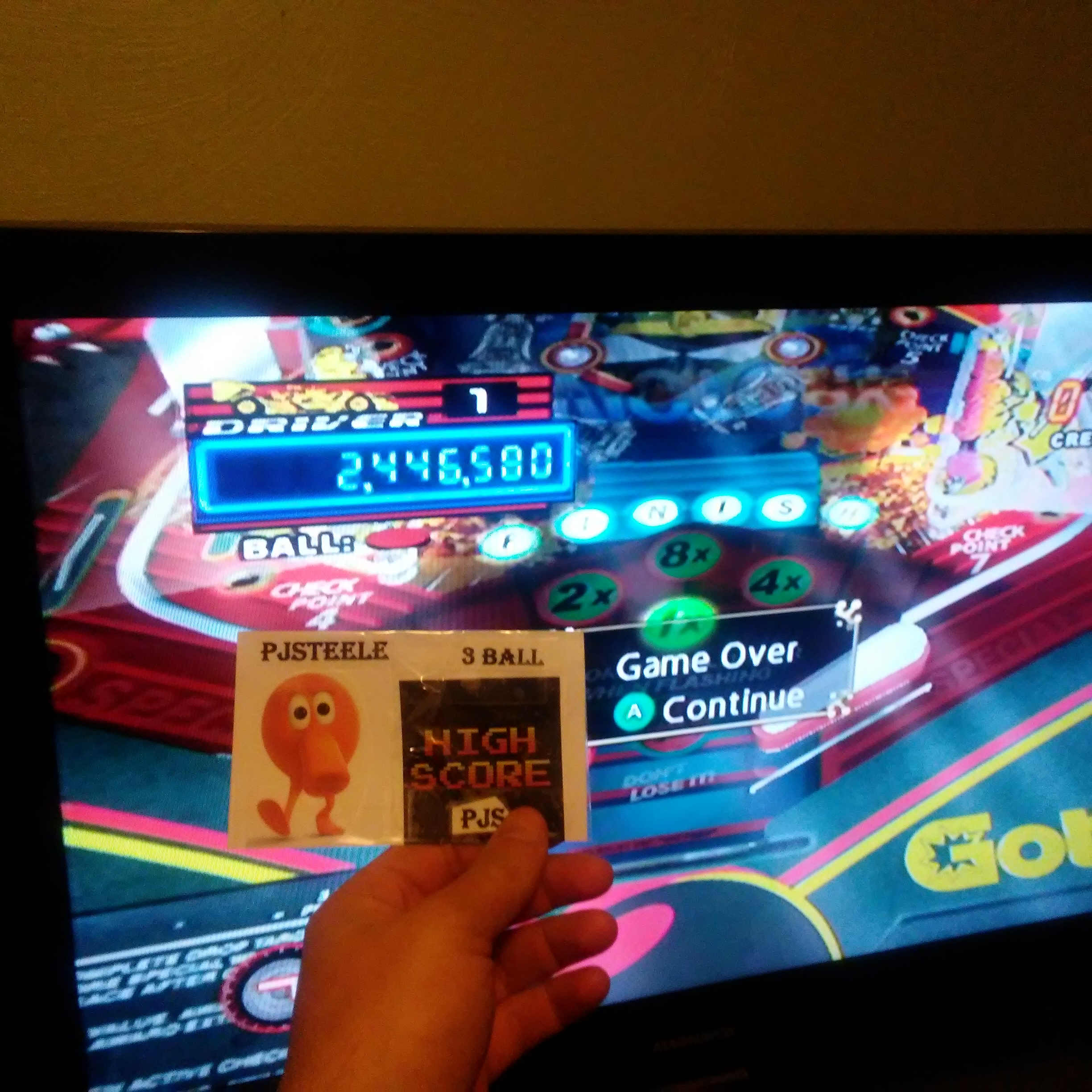 Pinball Hall of Fame: The Gottlieb Collection: Victory [3 Balls] 2,446,580 points