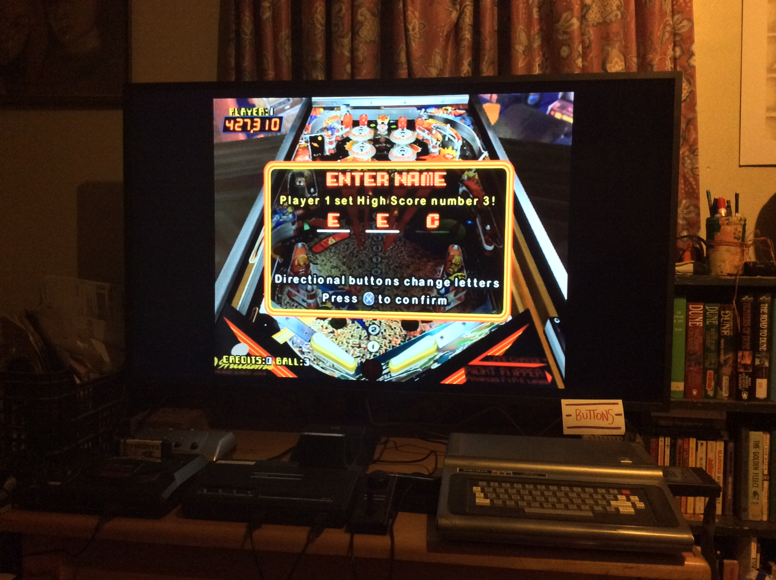 Pinball Hall of Fame: The Williams Collection: Firepower 427,310 points