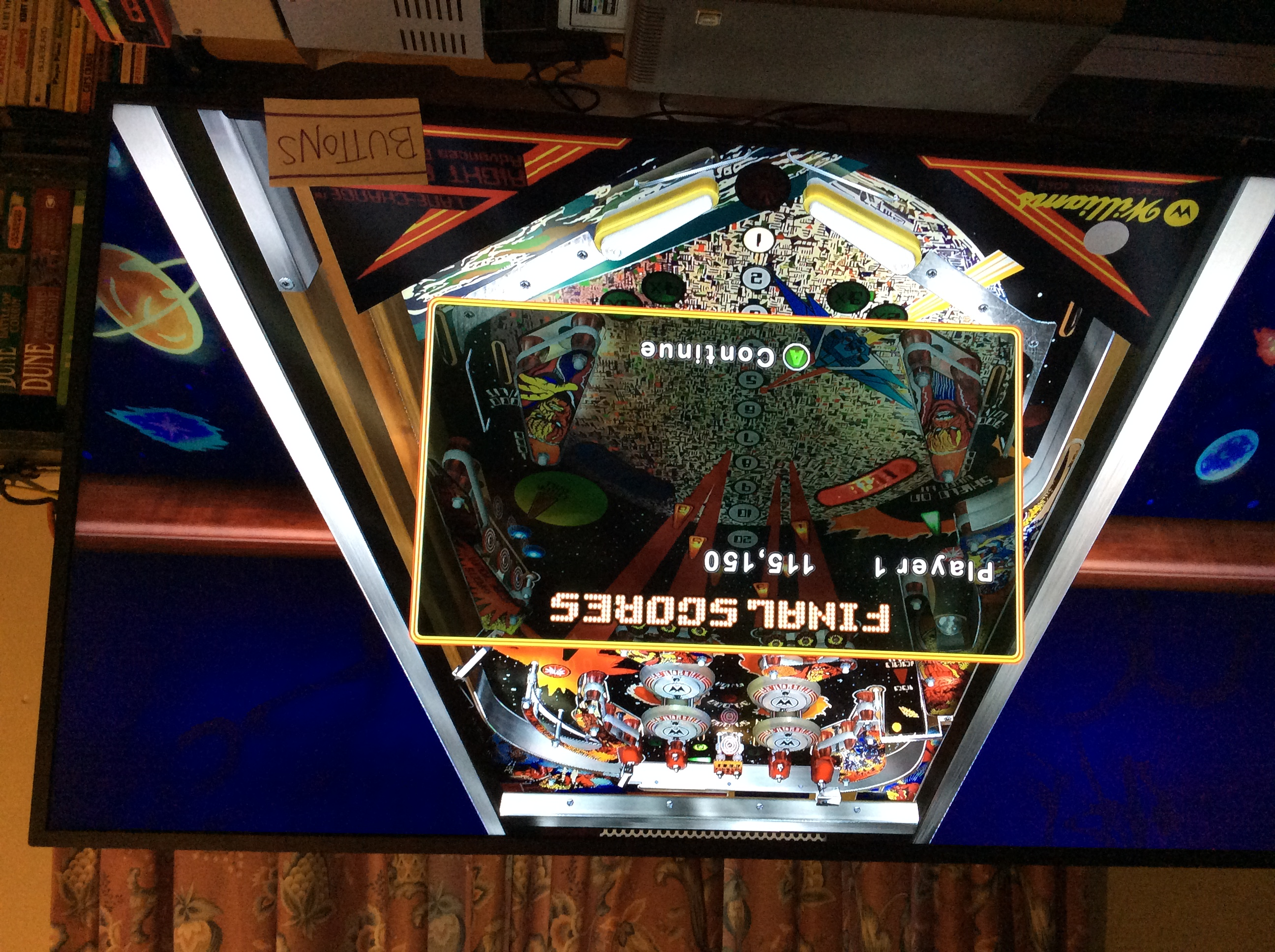 Pinball Hall of Fame: The Williams Collection: Firepower 115,150 points
