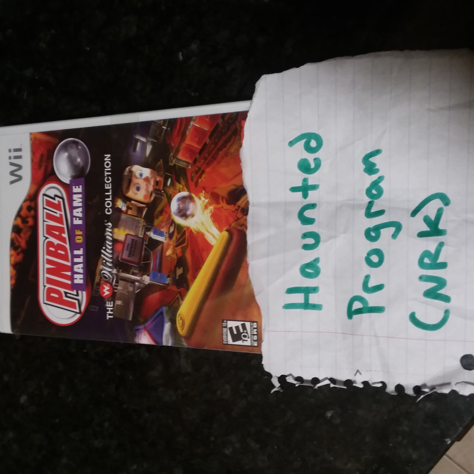 Hauntedprogram: Pinball Hall of Fame: The Williams Collection: Gorgar (Wii) 477,050 points on 2020-11-11 22:30:31