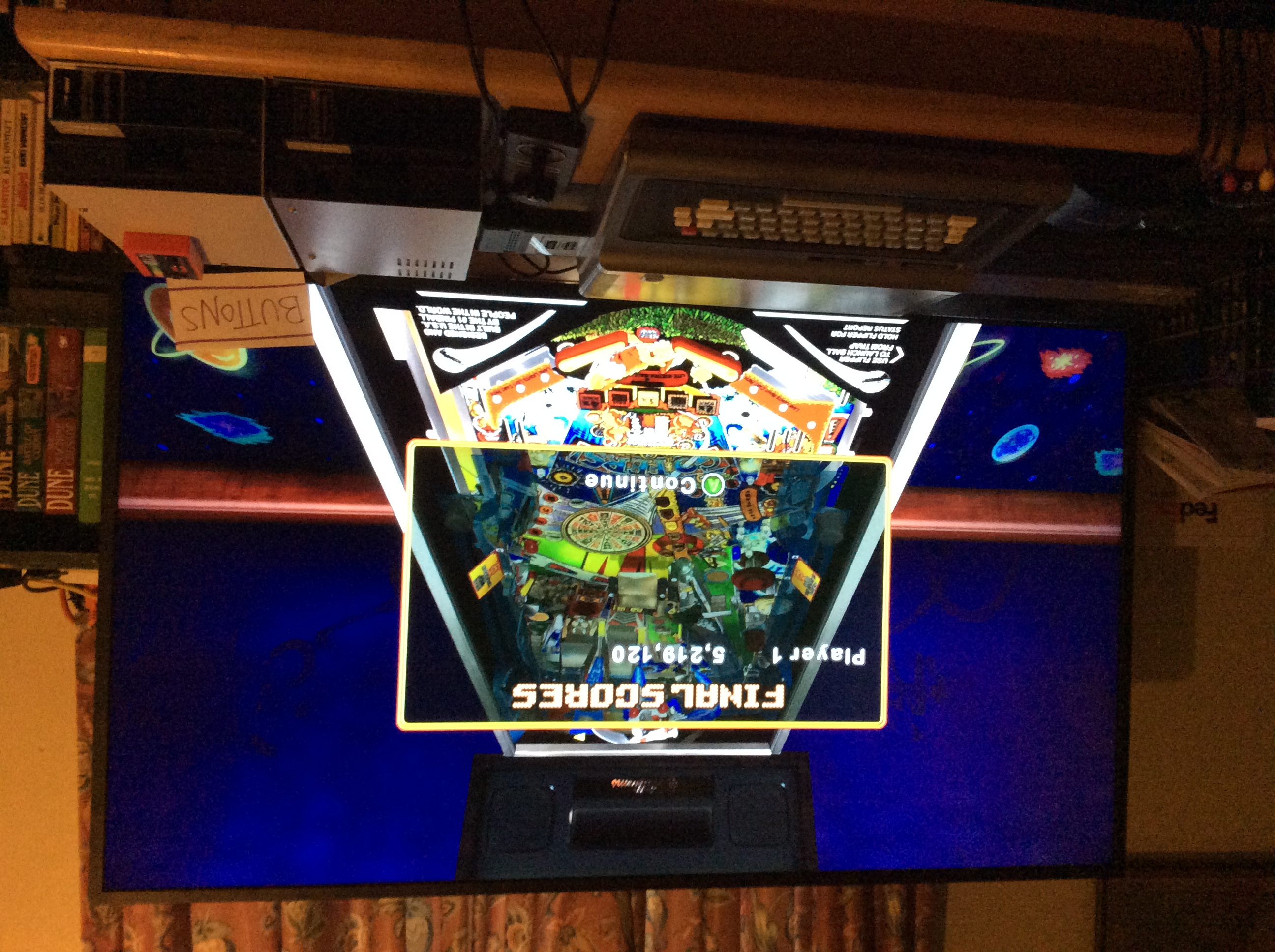 Pinball Hall of Fame: The Williams Collection: No Good Gofers 5,219,120 points