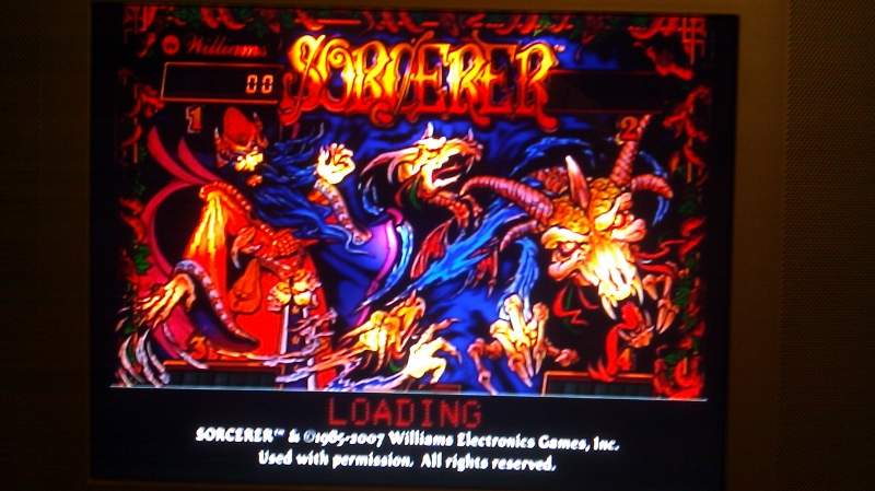 Pinball Hall of Fame: The Williams Collection: Sorcerer 2,023,600 points