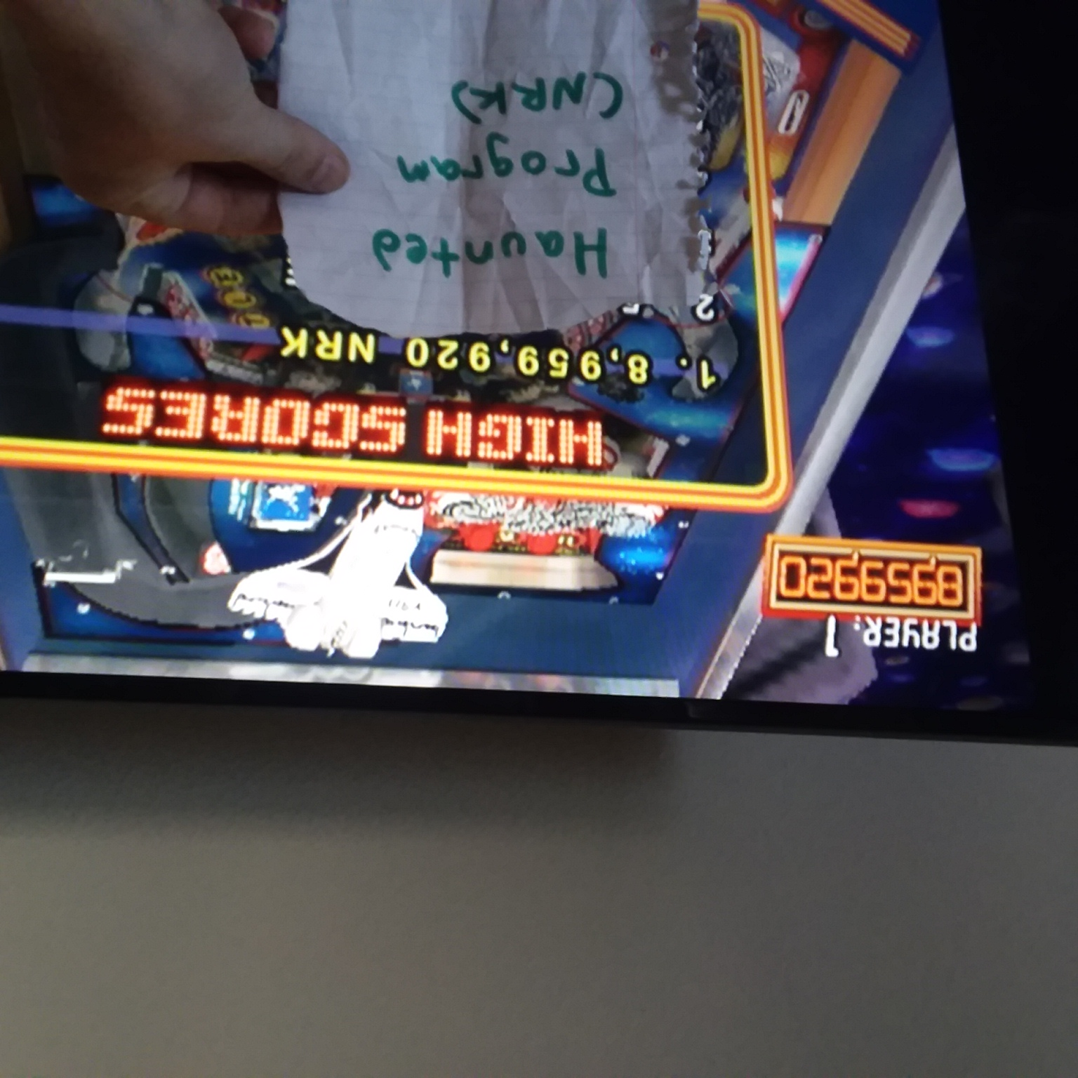 Hauntedprogram: Pinball Hall of Fame: The Williams Collection: Space Shuttle (Wii) 8,959,920 points on 2020-11-13 16:27:23