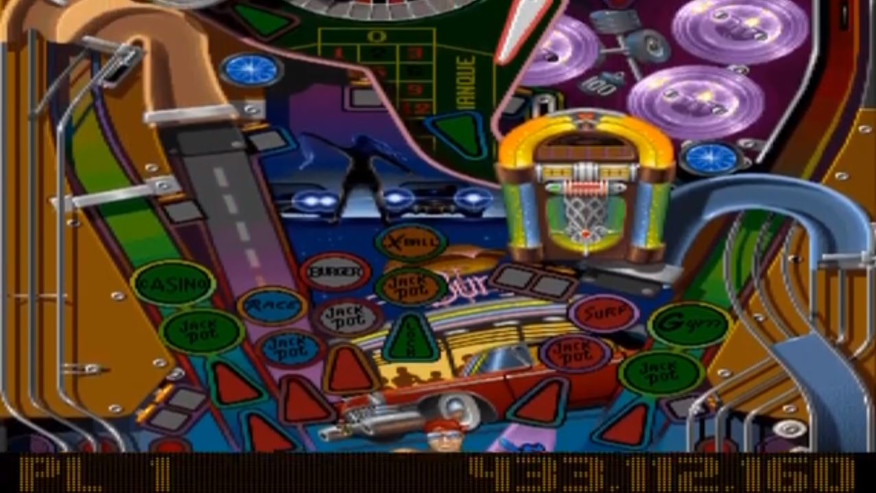 TheTrickster: Pinball Illusions: Babewatch (PC Emulated / DOSBox) 433,112,160 points on 2016-07-21 18:26:36