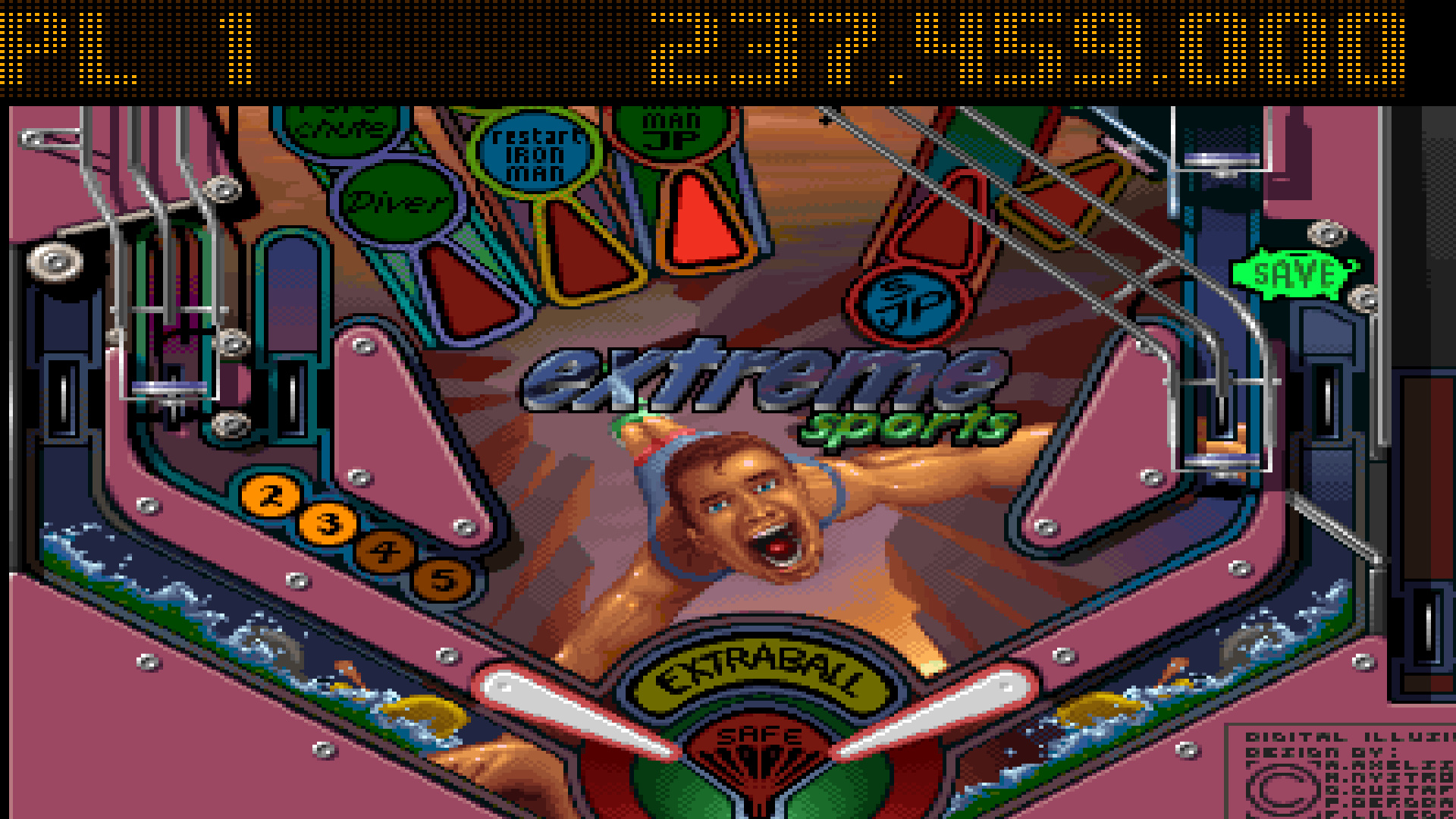 Pinball Illusions: Extreme Sports 237,459,000 points
