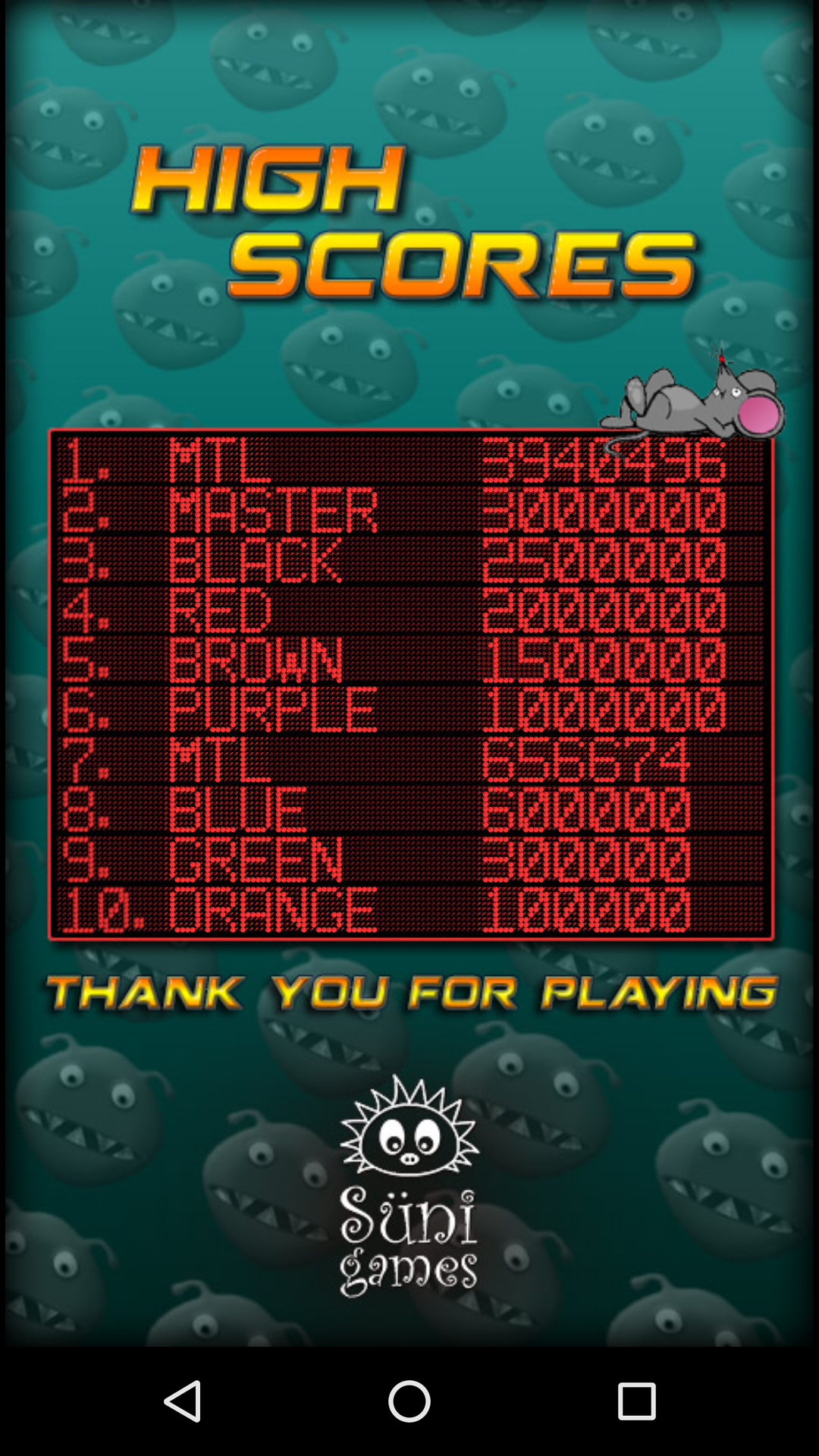 Mantalow: Pinball Invaders (Android) 3,940,496 points on 2015-11-02 23:27:02
