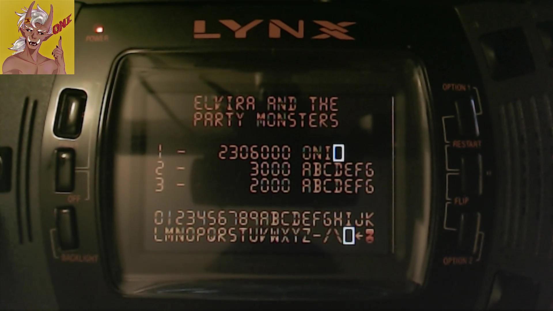 OniDensetsu: Pinball Jam (Atari Lynx) 2,306,000 points on 2021-10-15 10:24:02