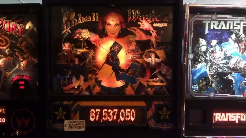 ichigokurosaki1991: Pinball Magic (Pinball: 3 Balls) 87,537,050 points on 2016-04-14 02:27:23