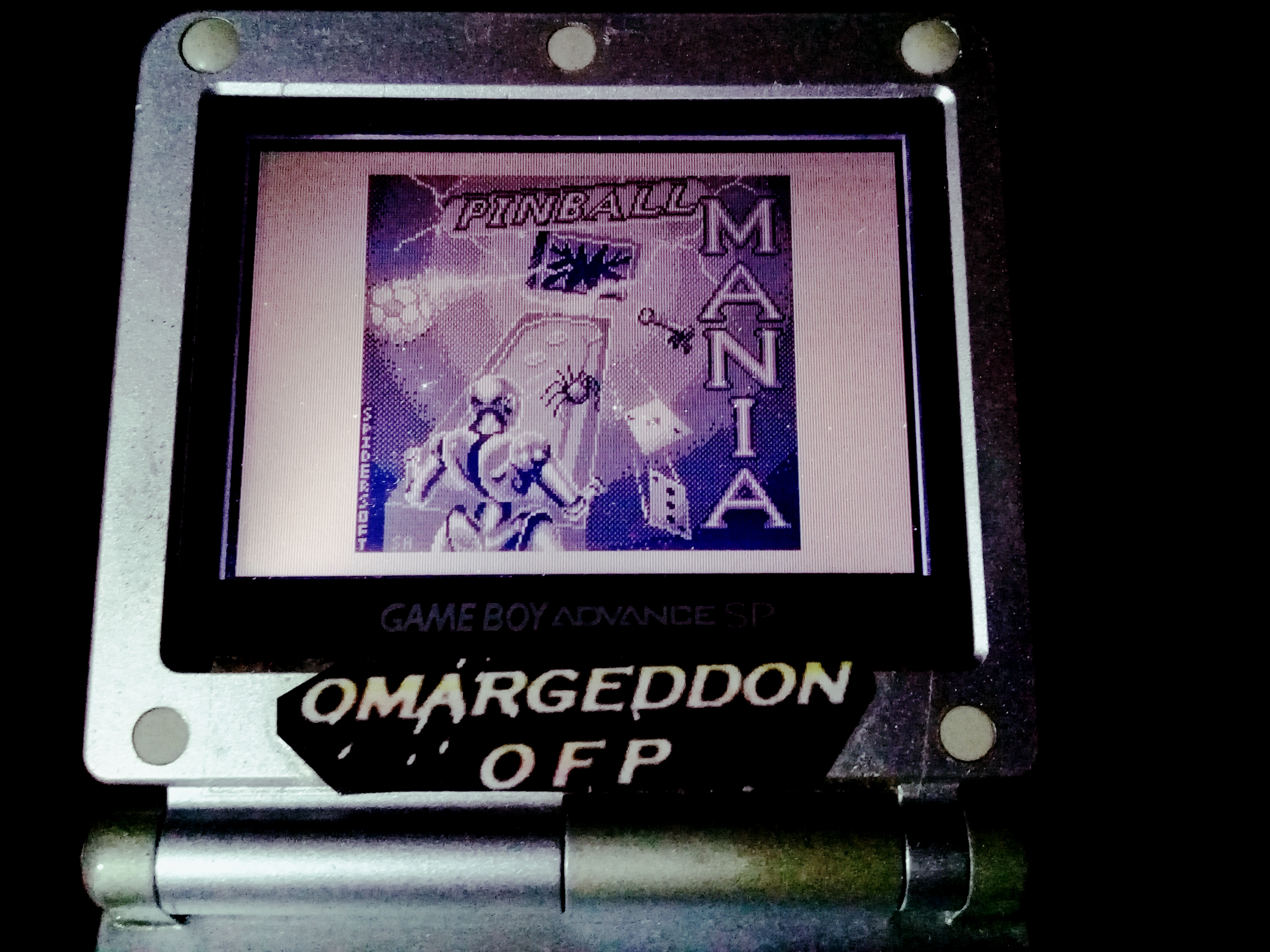 omargeddon: Pinball Mania: Jackpot (Game Boy) 3,341,778 points on 2019-11-25 07:42:18