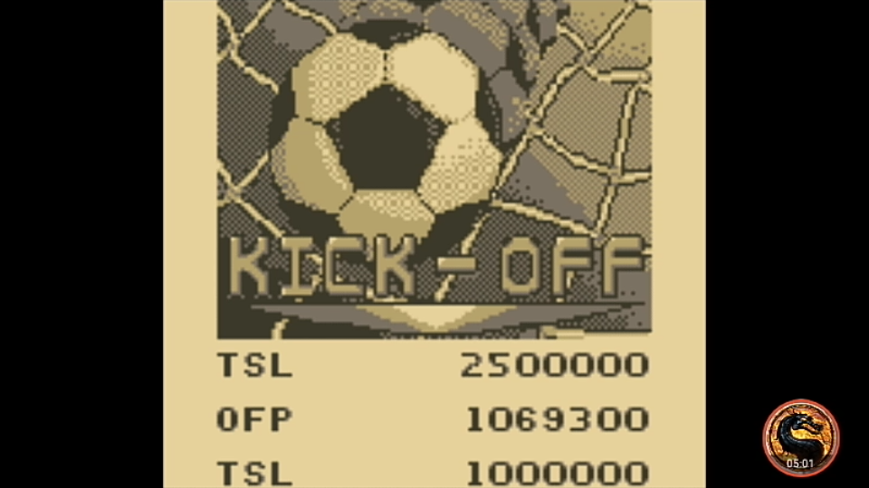 omargeddon: Pinball Mania: Kick-Off (Game Boy Emulated) 1,069,300 points on 2019-11-24 18:26:01