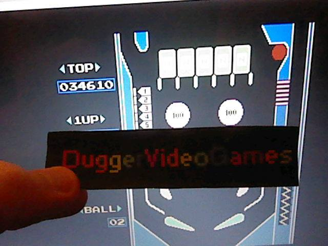 DuggerVideoGames: Pinball (NES/Famicom Emulated) 34,610 points on 2018-02-02 00:35:51