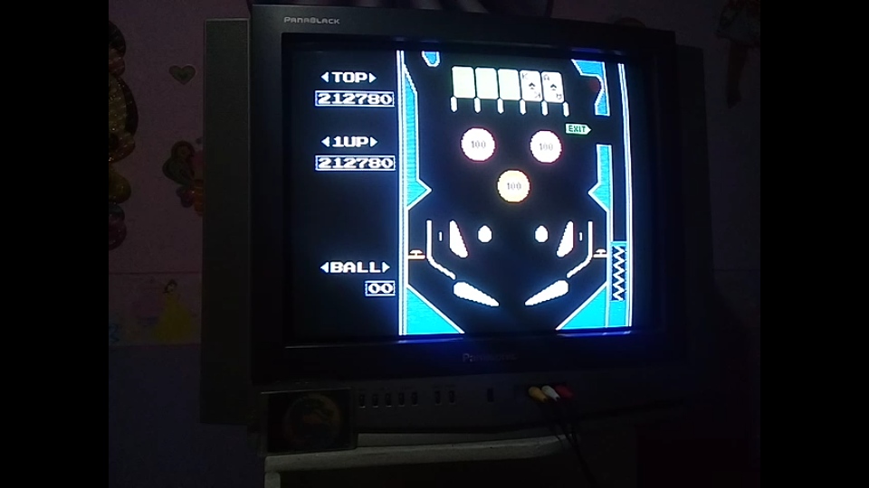 omargeddon: Pinball (NES/Famicom) 212,780 points on 2019-10-26 20:03:39
