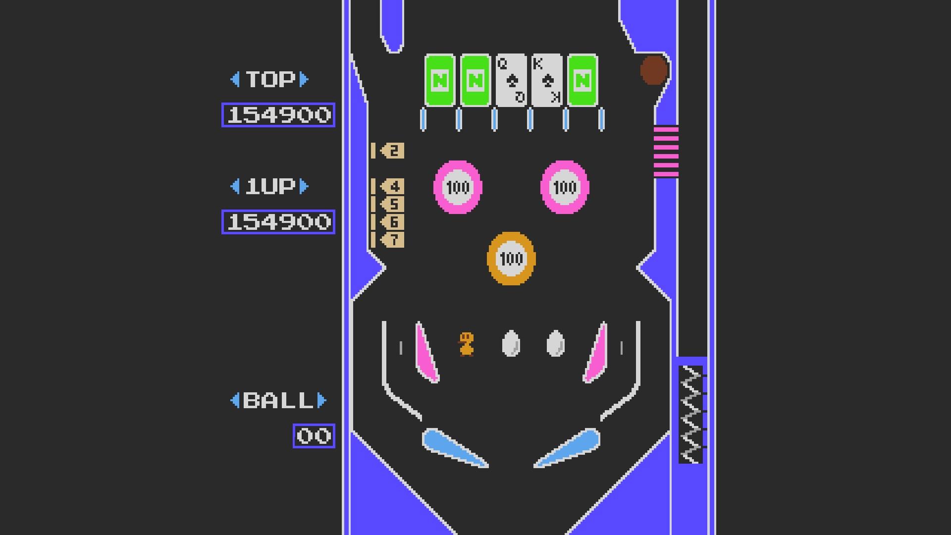 AkinNahtanoj: Pinball (NES/Famicom Emulated) 154,900 points on 2020-09-06 09:39:17