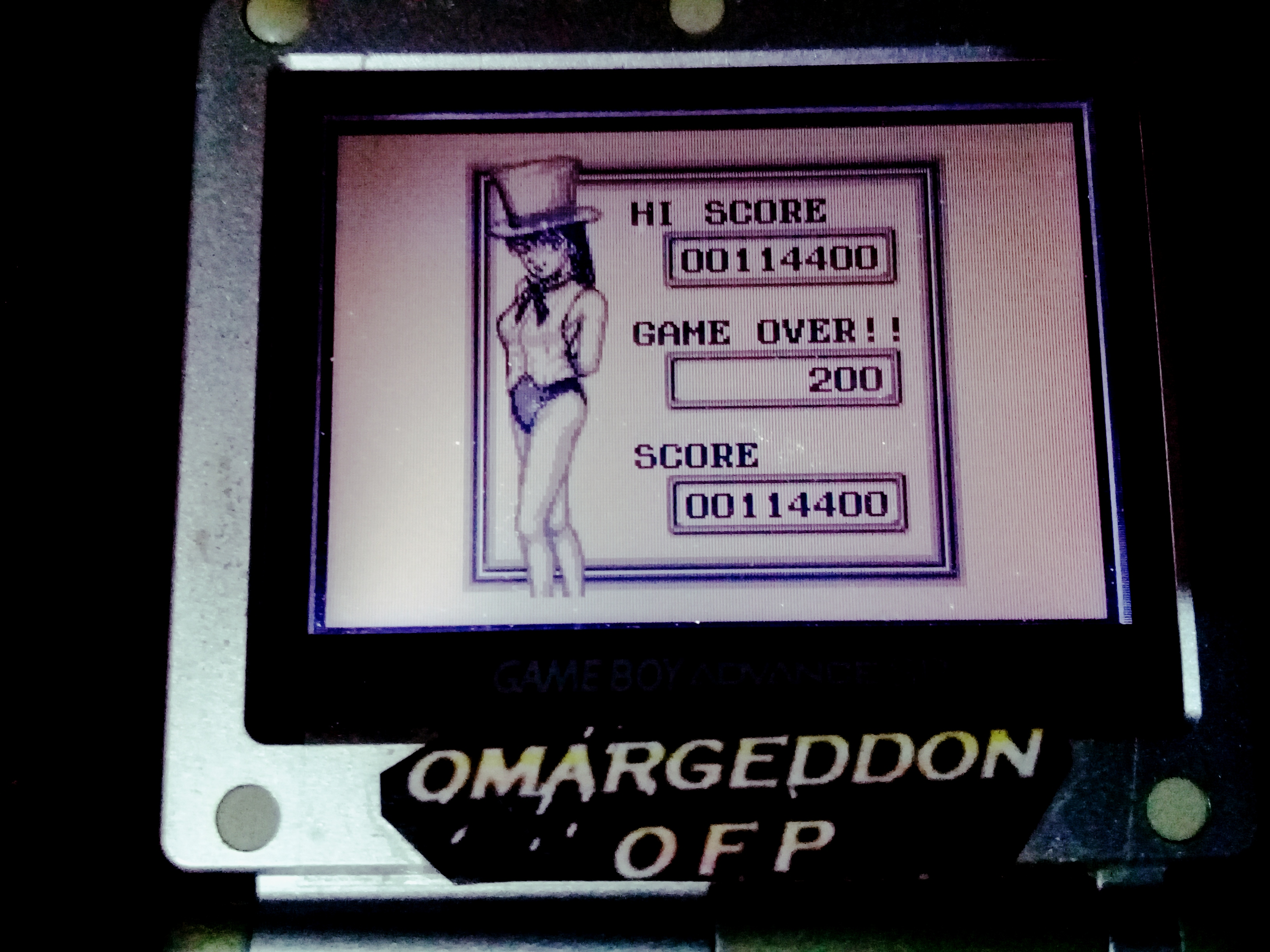 omargeddon: Pinball Party [Extra Game] (Game Boy) 114,400 points on 2020-09-14 02:53:33