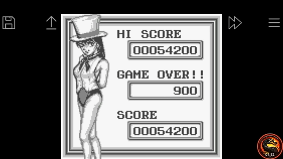 omargeddon: Pinball Party [Normal Game] (Game Boy Emulated) 54,200 points on 2020-09-14 03:15:34