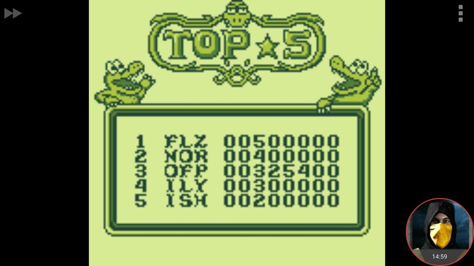 omargeddon: Pinball: Revenge of the Gator (Game Boy Emulated) 325,400 points on 2018-03-09 23:51:34