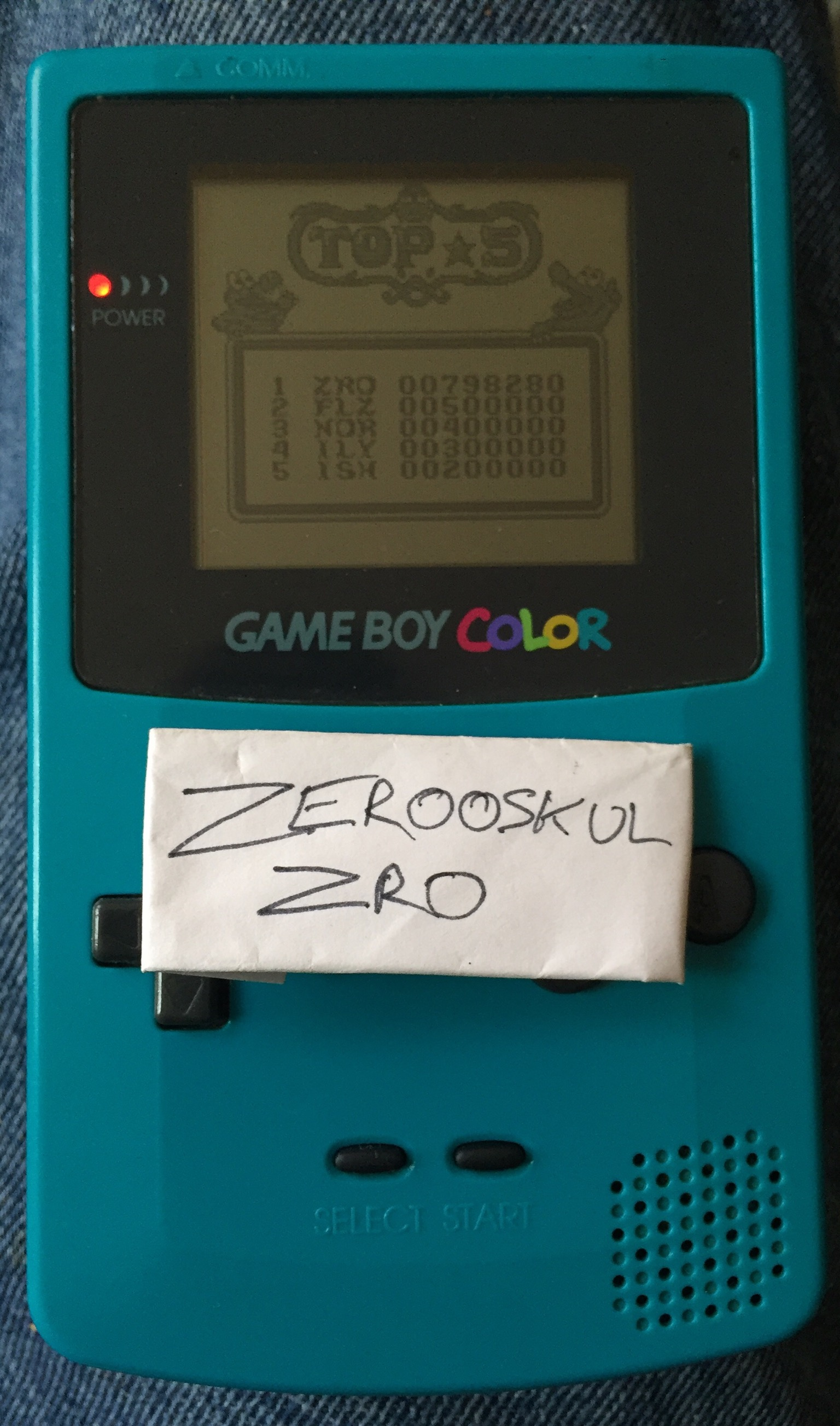 zerooskul: Pinball: Revenge of the Gator (Game Boy) 798,280 points on 2018-05-27 13:59:21