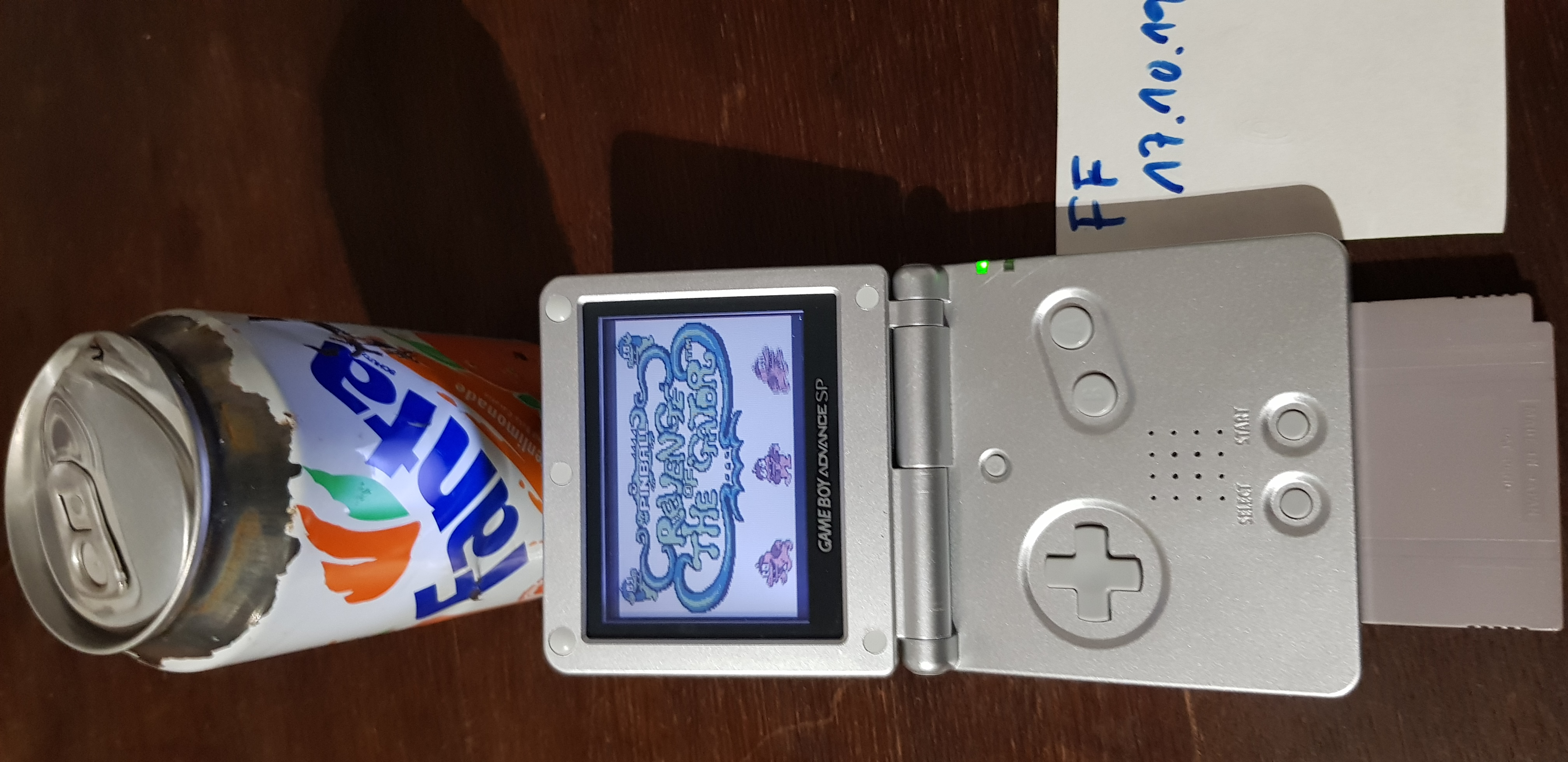 Fanta: Pinball: Revenge of the Gator (Game Boy) 1,036,440 points on 2019-10-17 00:12:45