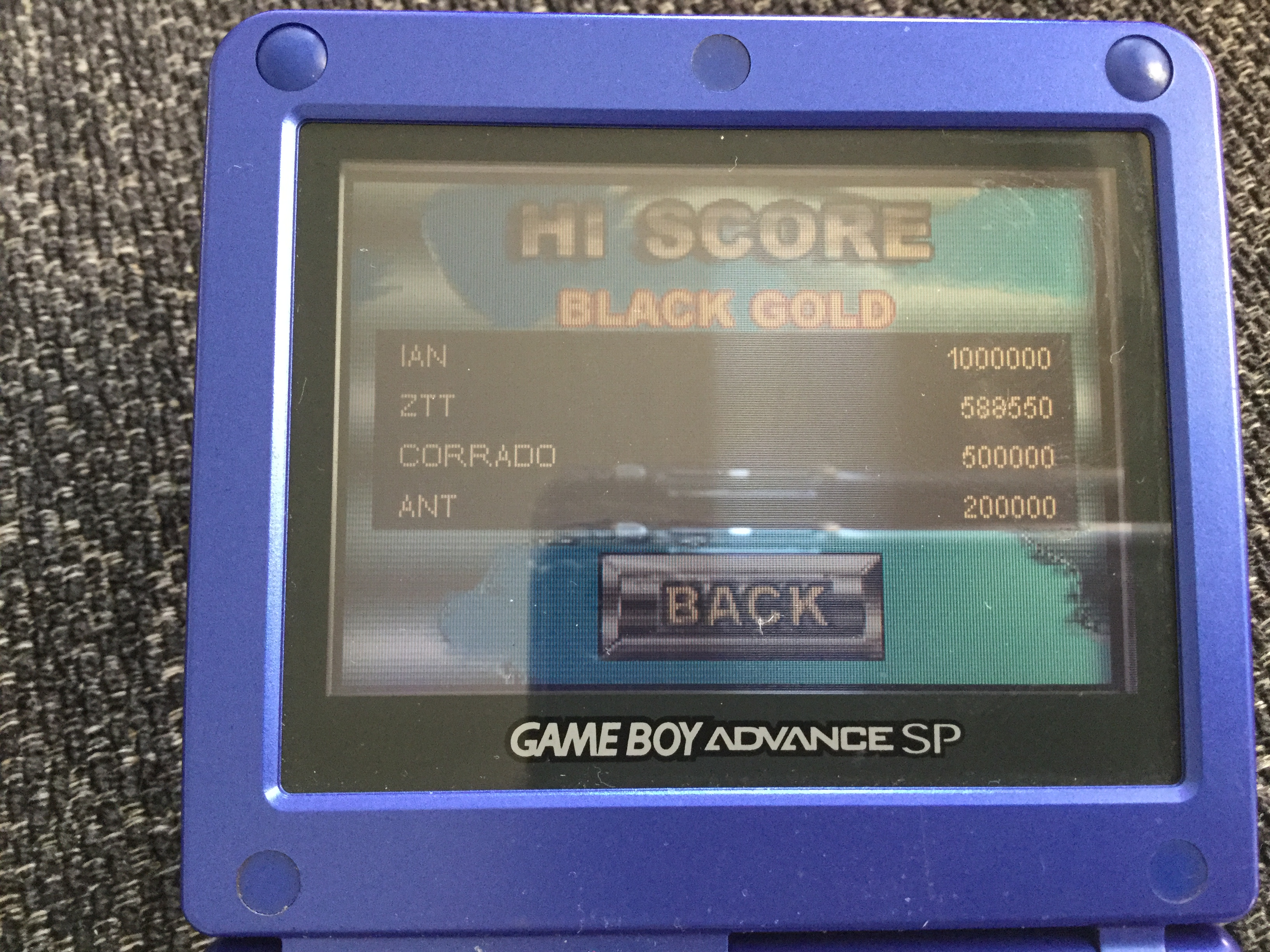 Frankie: Pinball Tycoon: Black Gold (GBA) 588,550 points on 2018-05-07 01:47:46