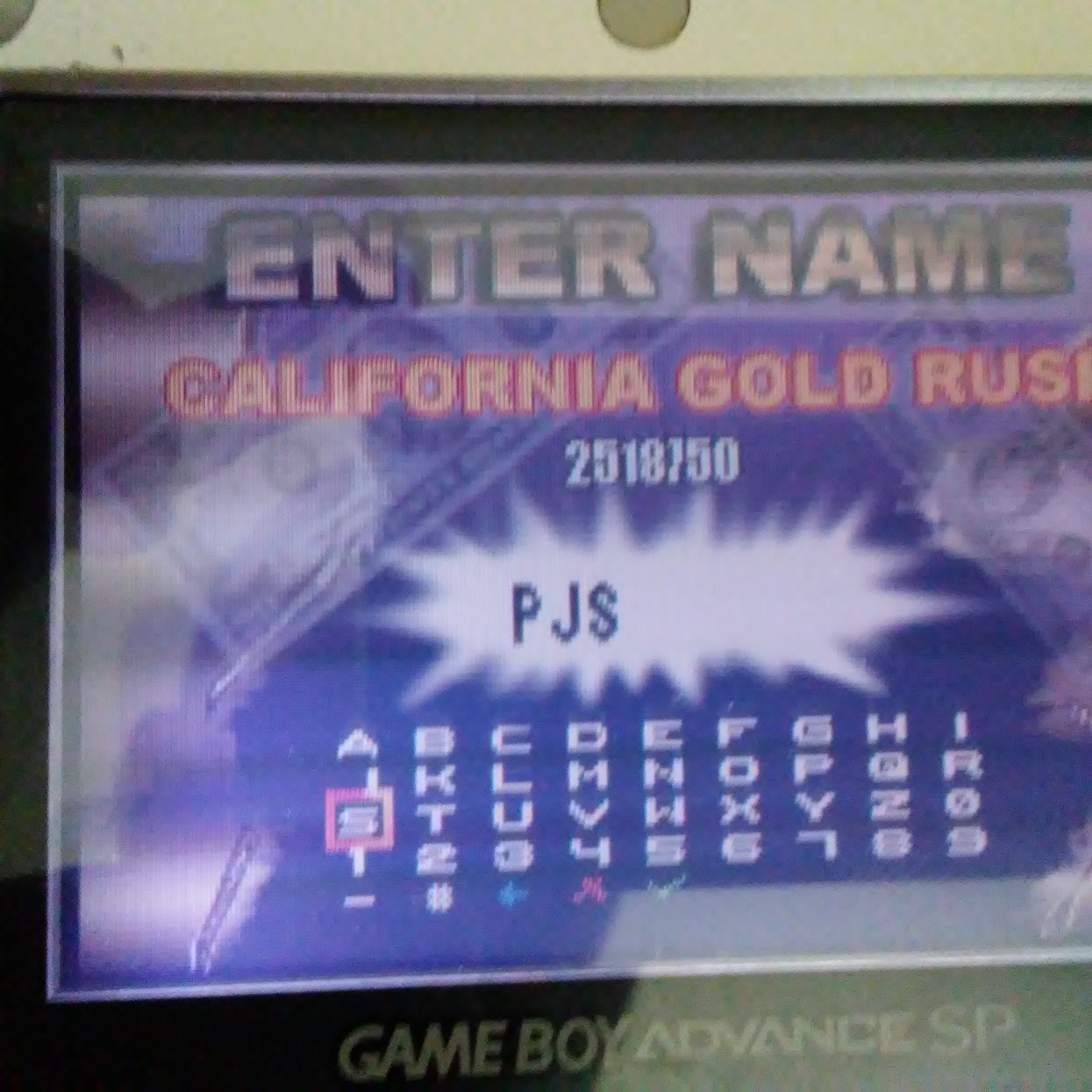 Pjsteele: Pinball Tycoon: California Gold Rush (GBA) 2,518,750 points on 2017-06-21 12:33:37