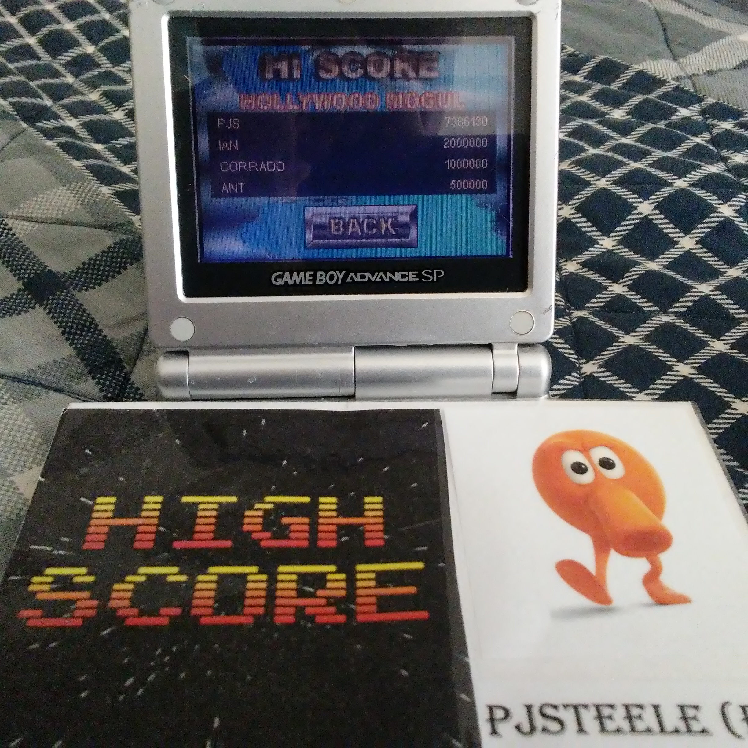 Pjsteele: Pinball Tycoon: Hollywood Mogul (GBA) 7,386,130 points on 2017-06-23 16:58:41