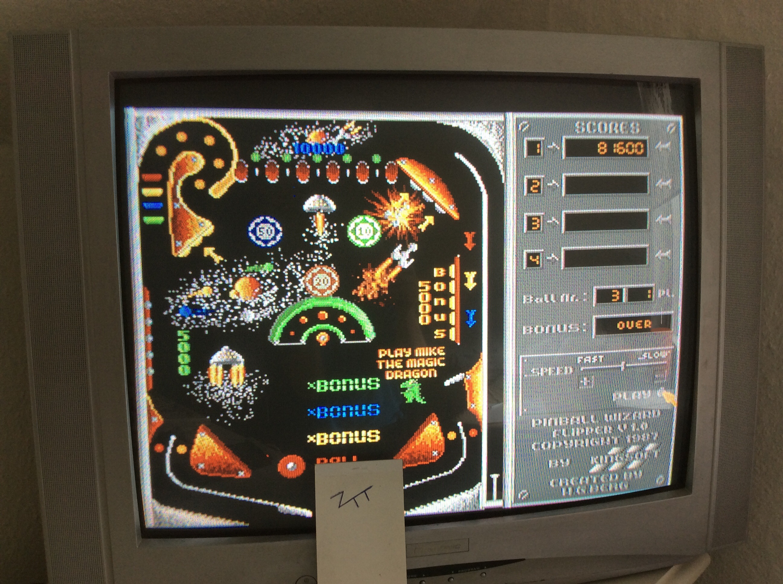 Frankie: Pinball Wizard V1.0 [Free choice of Speed] (Amiga) 81,600 points on 2016-07-03 05:20:55
