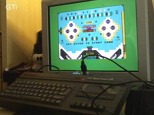 GTibel: Pinball Wizard (ZX Spectrum) 25,065 points on 2017-09-02 01:36:59