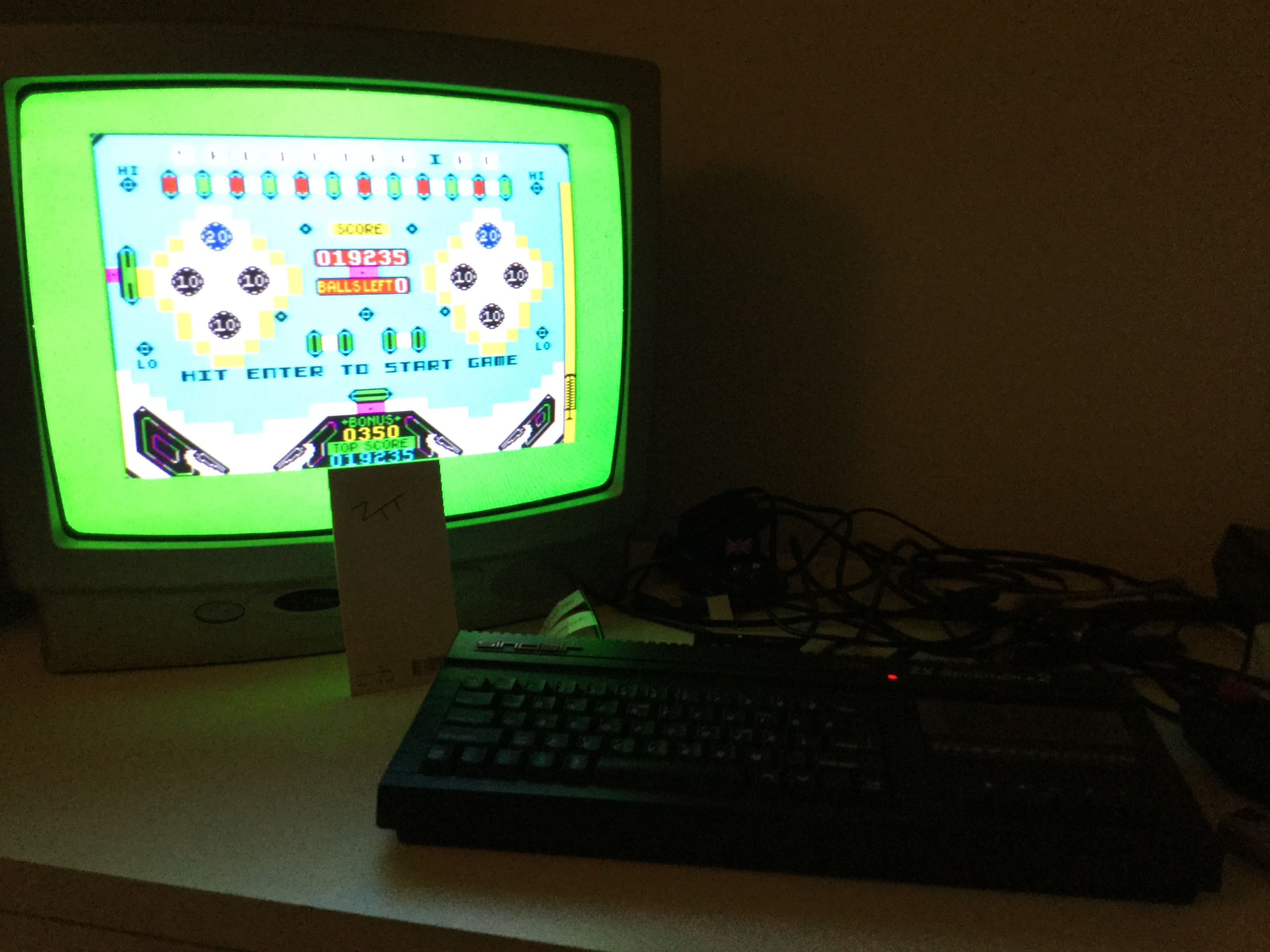Frankie: Pinball Wizard (ZX Spectrum) 19,235 points on 2017-09-30 05:50:20