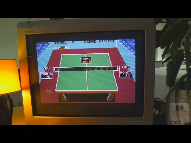 GTibel: Ping Pong (Commodore 64) 13,070 points on 2019-03-11 10:59:37