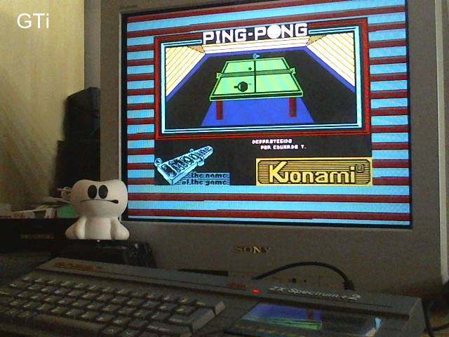 GTibel: Ping Pong [Imagine Software] [Start Level 1] (ZX Spectrum) 4,560 points on 2017-06-23 15:43:45