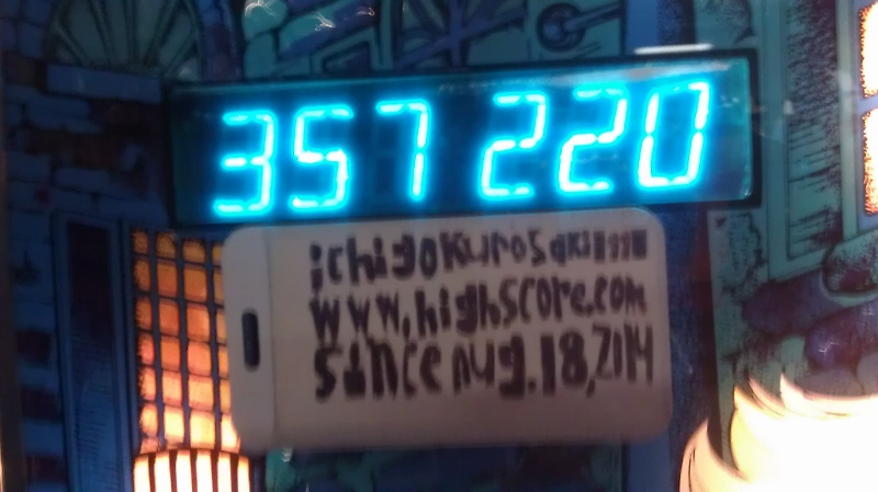 ichigokurosaki1991: Pink Panther (Pinball: 5 Balls) 357,220 points on 2016-04-05 01:08:02