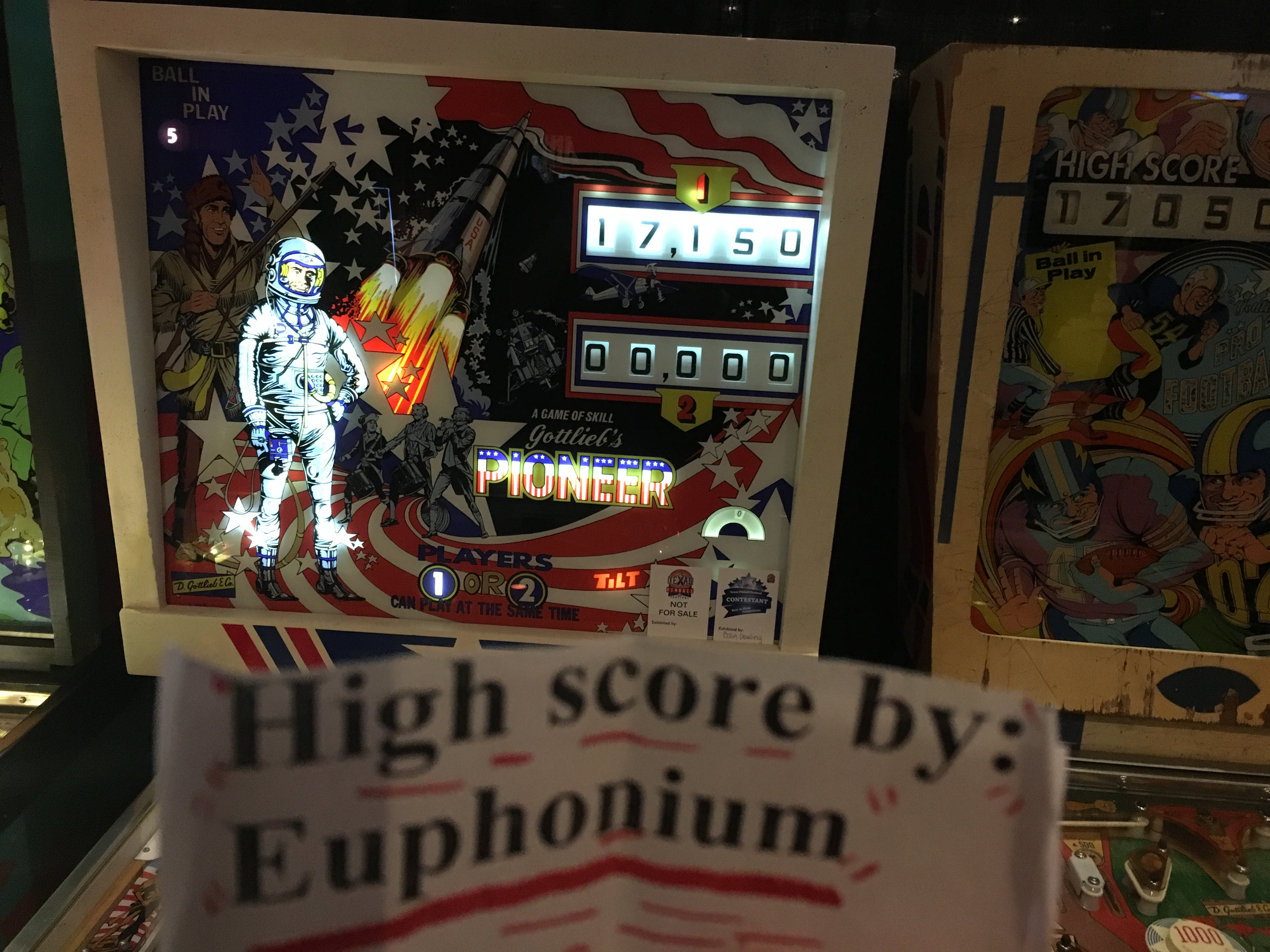 euphonium: Pioneer (Pinball: 5 Balls) 17,150 points on 2018-03-18 21:26:11