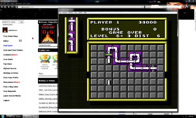 OriginalGamer: Pipe Dream [Game A/ Level 5] (NES/Famicom Emulated) 38,000 points on 2016-07-15 16:22:20